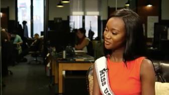 Miss USA Deshauna Barber talks PTSD and sexism