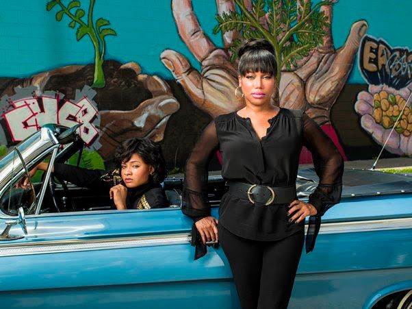 Michel'le opens up about her abusive relationship with Dr. Dre in new biopic.
