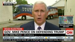 Pence Says Trump Doesn't Want To Ban Muslims, Gets Wrecked By CNN