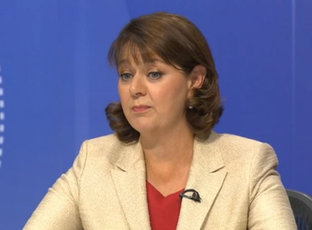 Leanne Wood was baffled by the man's claim her party was