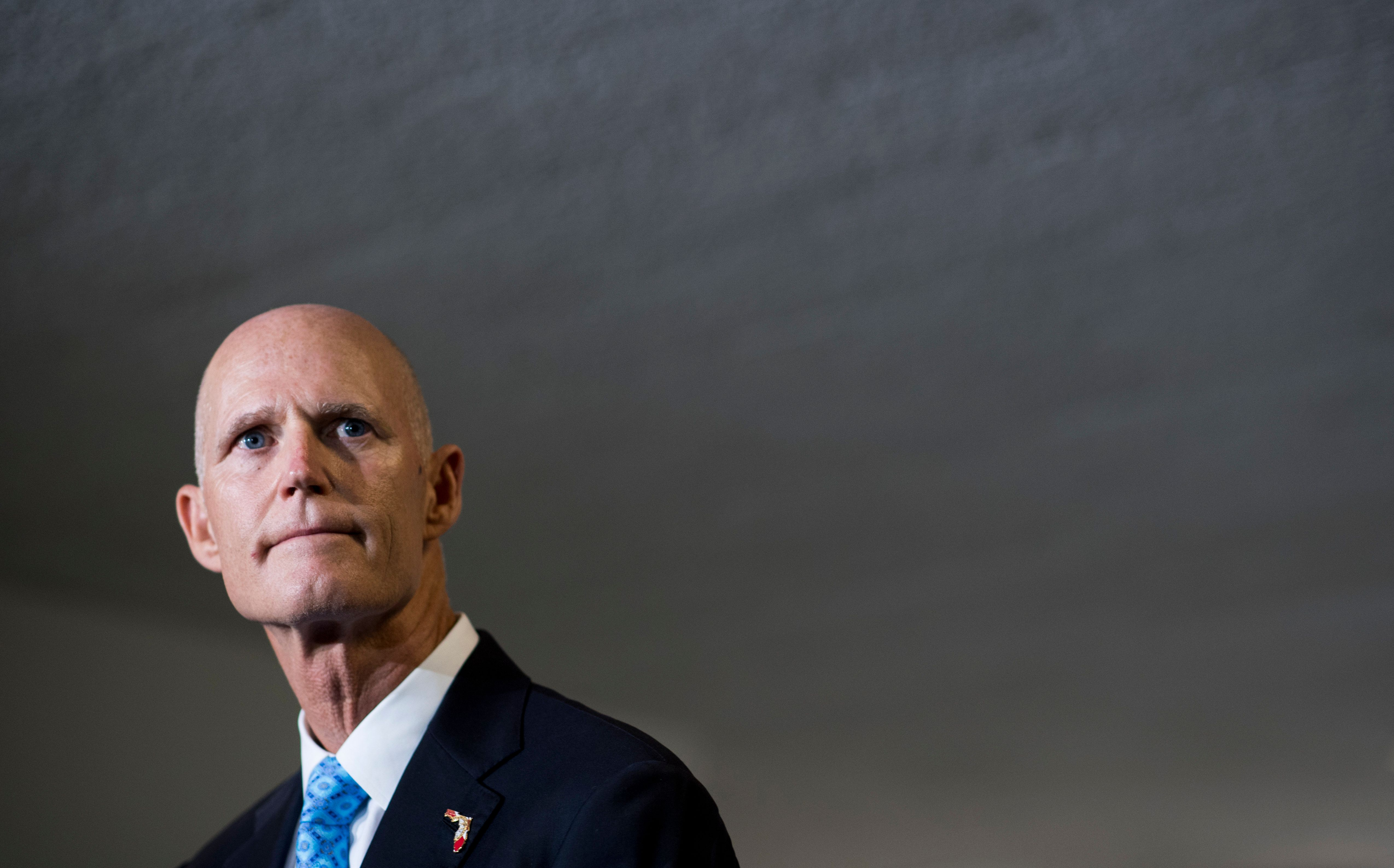Florida Gov. Rick Scott (R) won't extend the state's voter registration deadline as an enormous storm is set to bear down on
