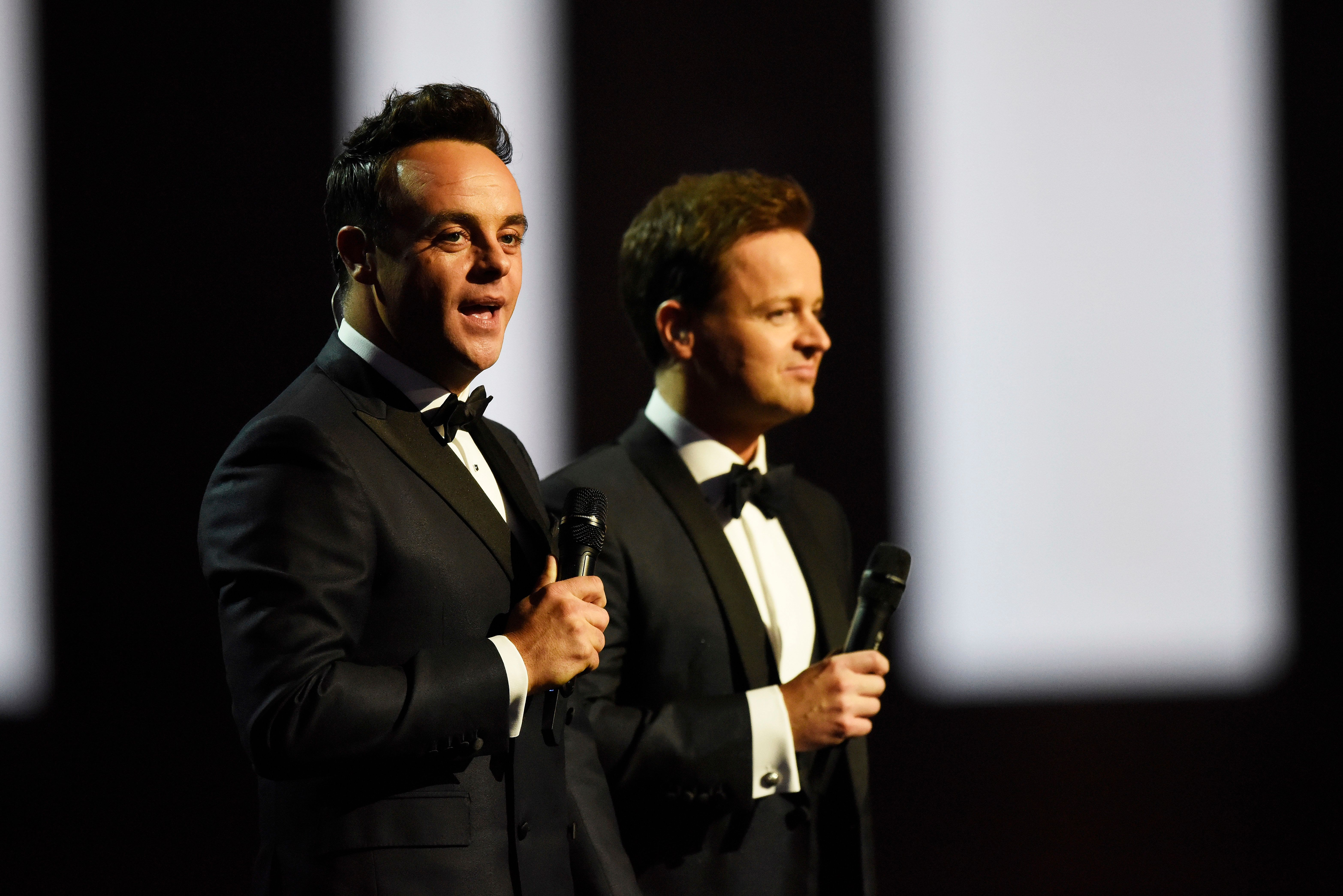 Ant and Dec have hosted the show for the past two