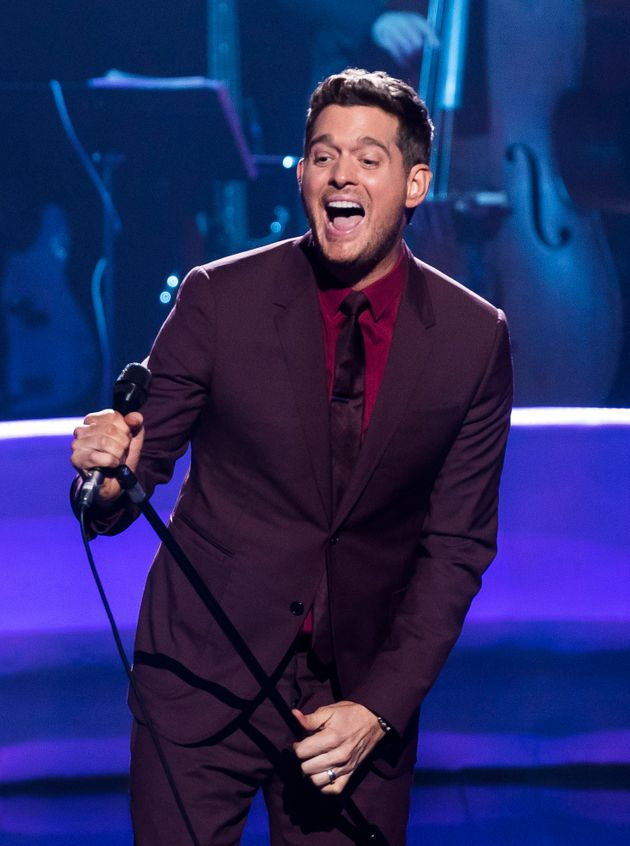 Michael Bublé will host next year's Brit