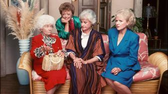 UNITED STATES - APRIL 29:  THE GOLDEN GIRLS - 9/14/85 - 9/14/92, ESTELLE GETTY, RUE MCCLANAHAN, BEA ARTHUR, BETTY WHITE,  (Photo by ABC Photo Archives/ABC via Getty Images)