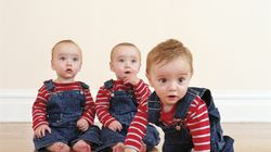 Dad Stops Triplets From Fighting With Brilliant Hack