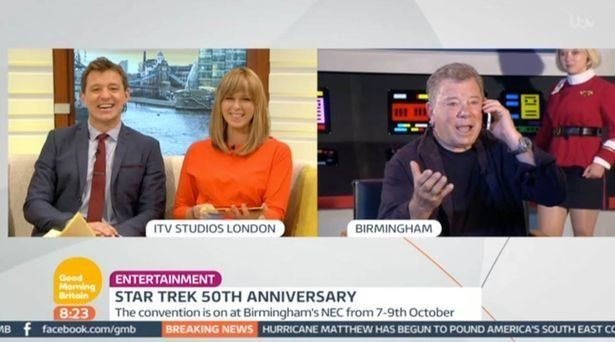 Watch William Shatner's Star Trek interview descend into chaos live from Birmingham
