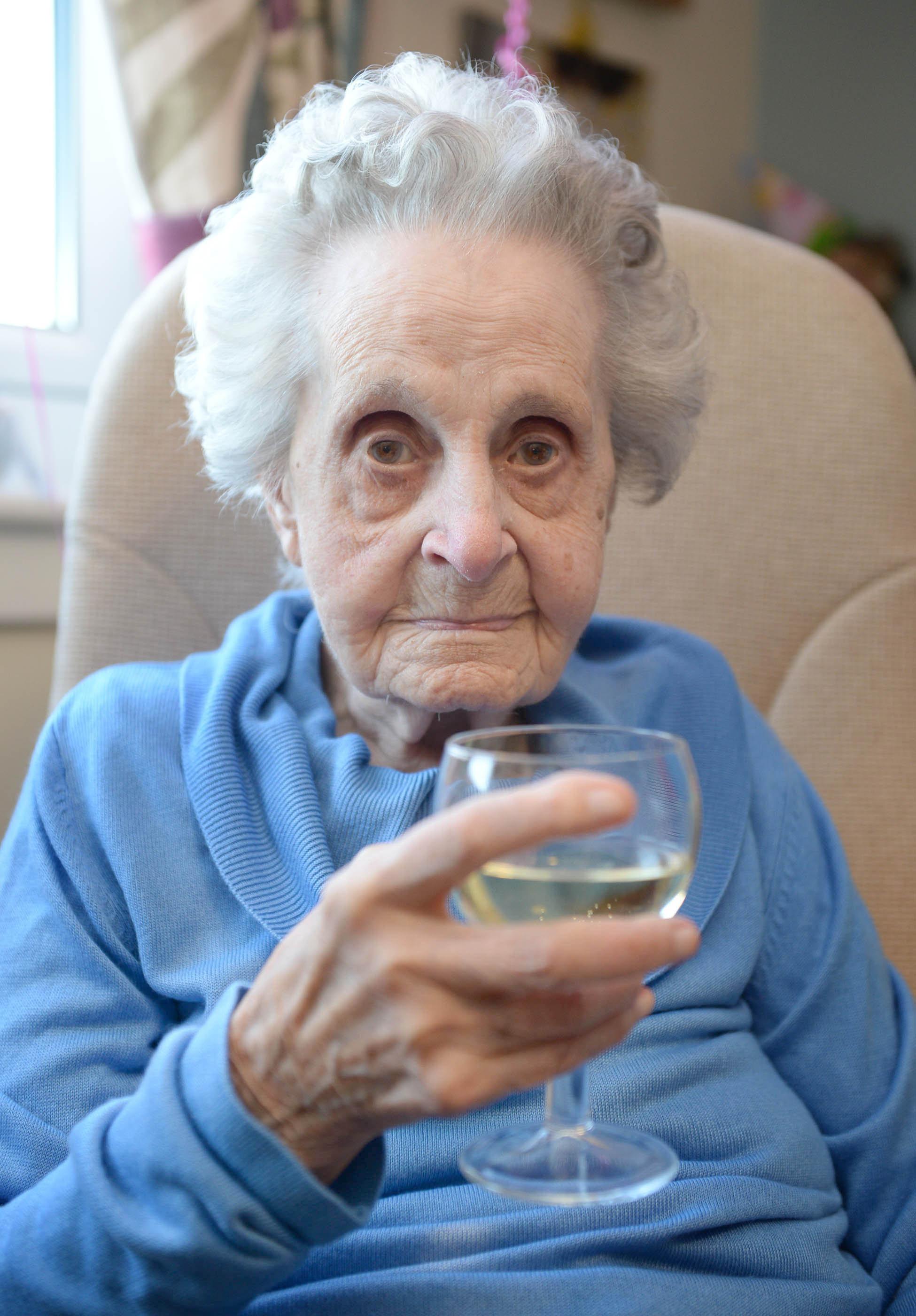 Pensioner Turns 102, Despite Smoking For 75