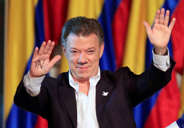Colombian President Juan Manuel Santos has been awarded the Nobel Peace