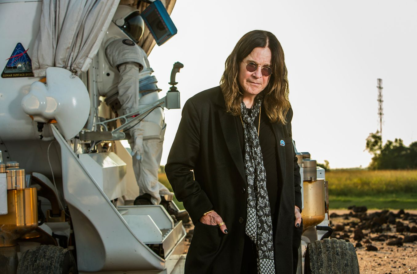 Ozzy Osbourne 'Managed To Cough, And Get A Vitamin Tablet Stuck In His