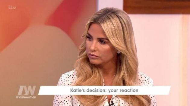 Katie Price to take break from Loose Women to concentrate on marriage