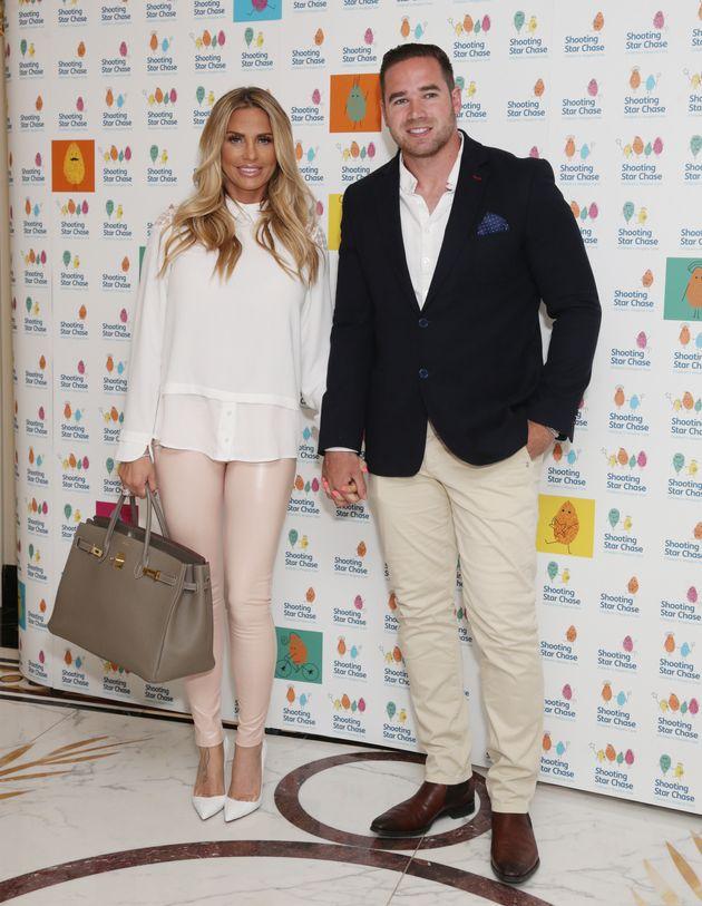 Katie with husband Kieran