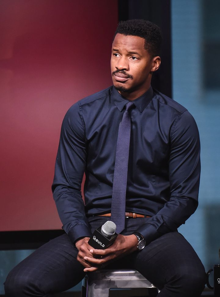 Nate Parker attends The Build Series to discuss 'The Birth Of A Nation' at AOL HQ on October 5, 2016 in New York City