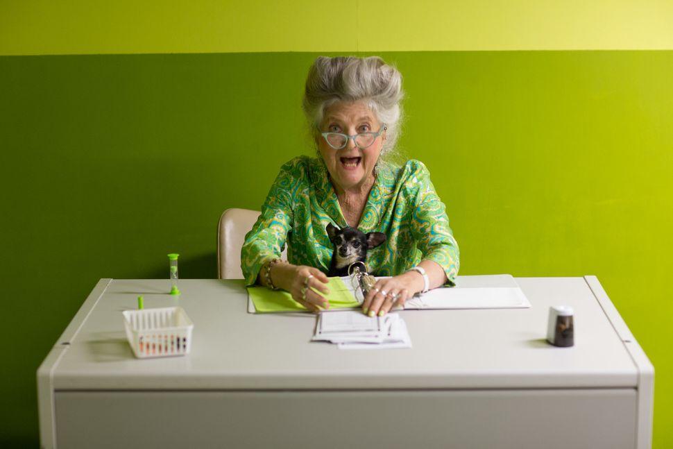 Voting Room,actor Marjorie Conn.