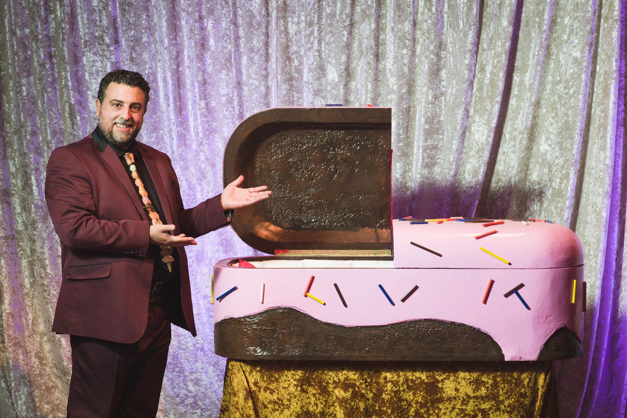 Sugar Coffins, Actor Matthew Korahais.