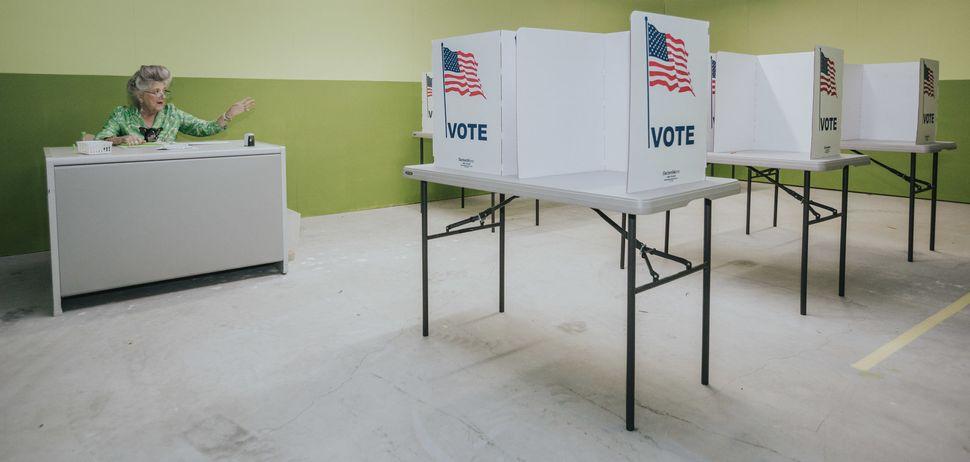 Voting Room, Installation Shot.<i></i>