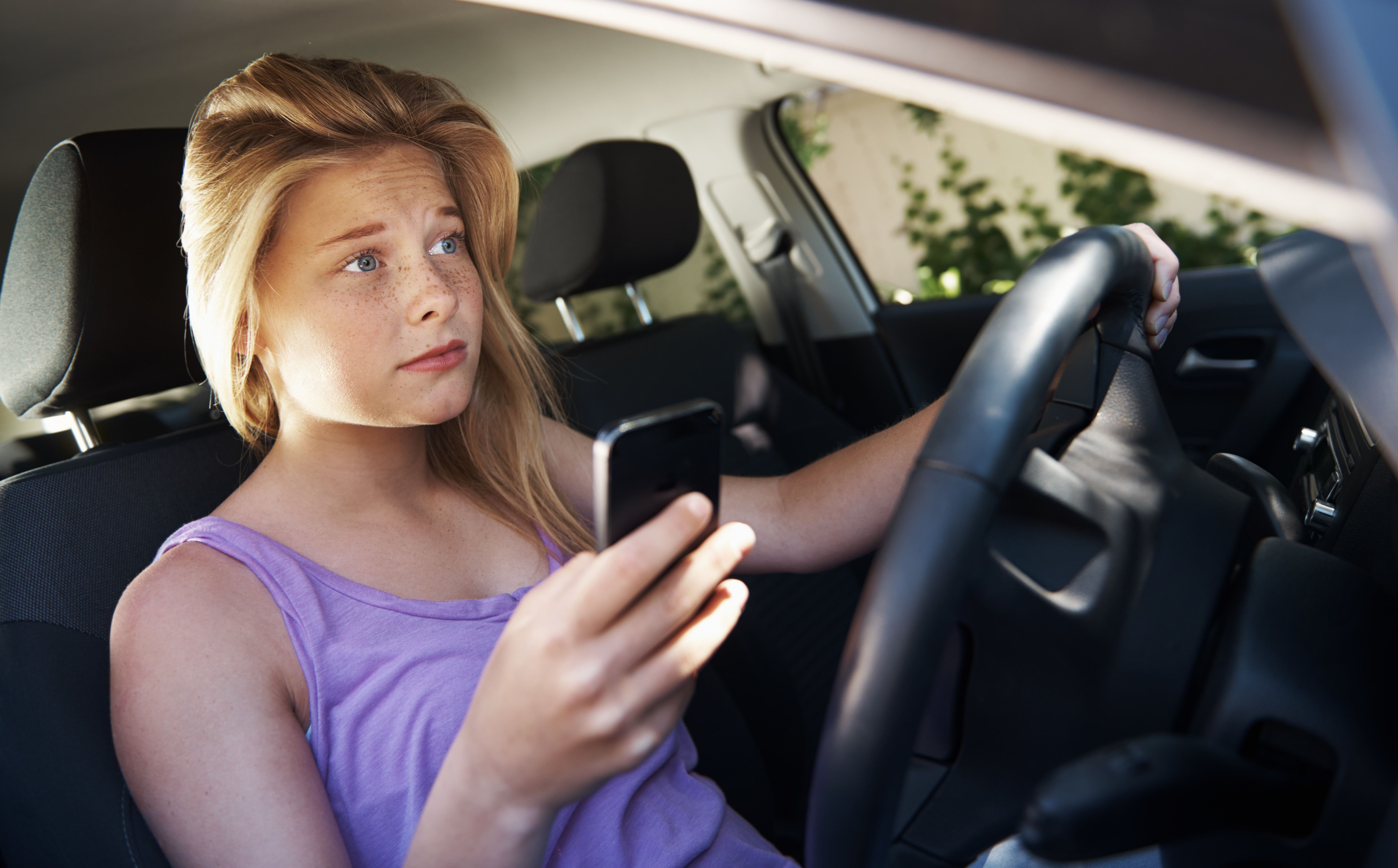Helicopter parents know their teens are driving, but text them anyway.
