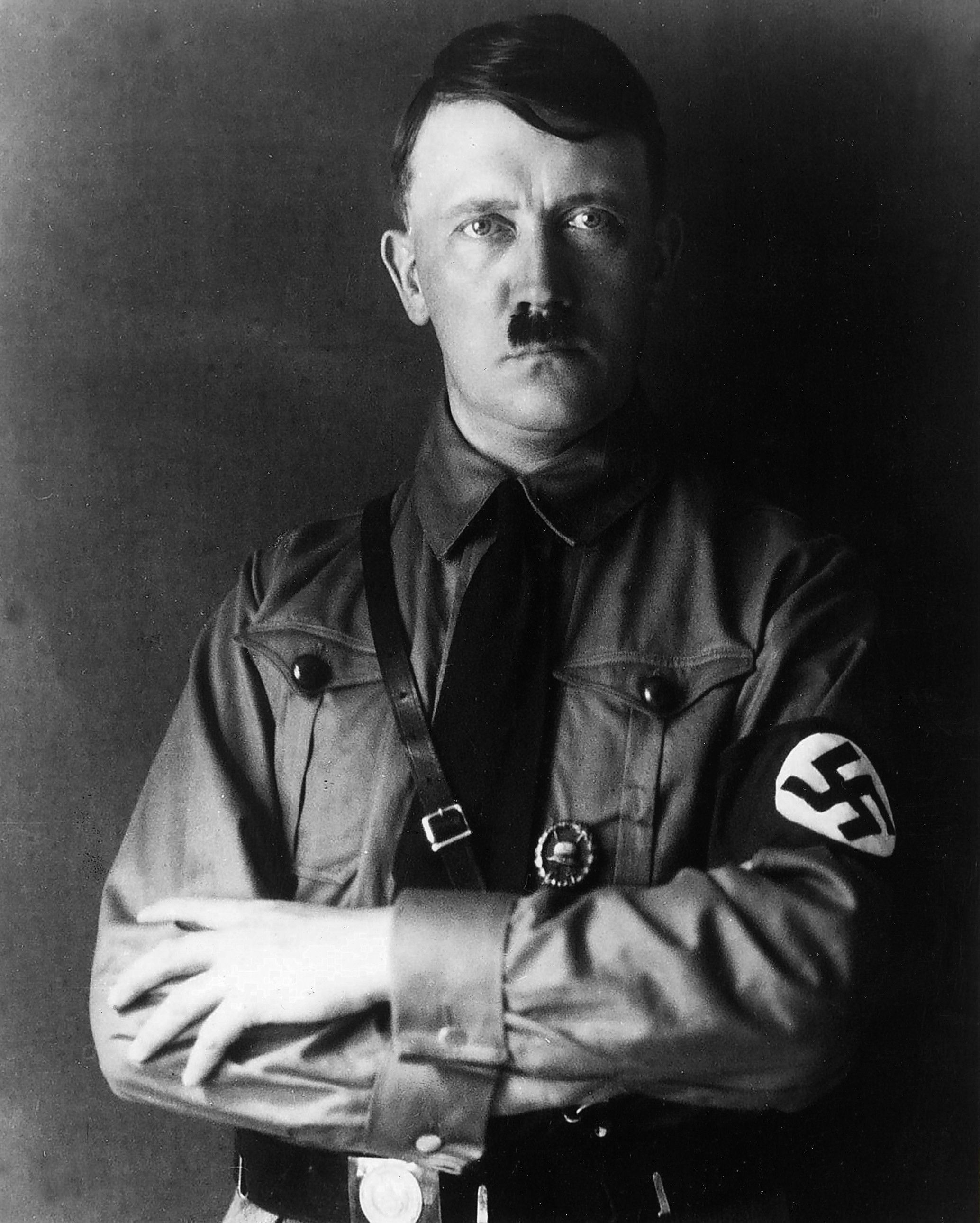 (GERMANY OUT) (*20.04.1889-30.04.1945+), Politiker, NSDAP, D, - in SA-Uniform, - vermutlich 1932   (Photo by ullstein bild via Getty Images)