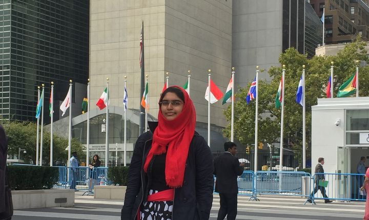 Taha at the United Nations Headquarters in New York