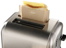 This Brilliant Bag Turns Your Toaster Into A Grilled Cheese Factory