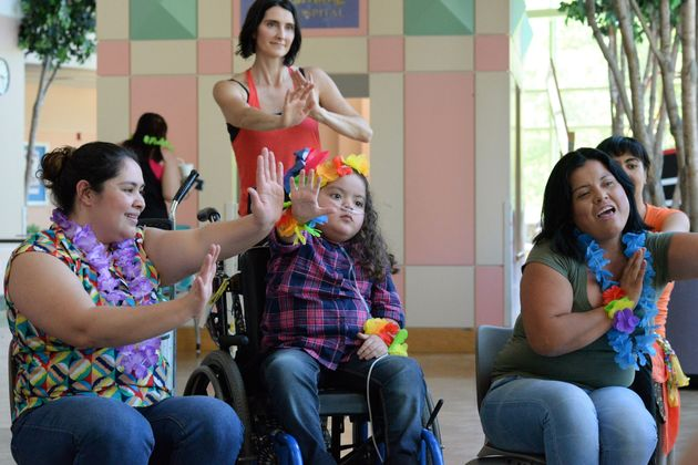 The classes are adapted to accommodate patients' physical or emotional