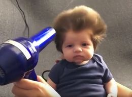 This Baby Can't Even Talk But His Hair Speaks Volumes