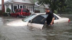 Photos Show Hurricane Matthew's Force As It Lashes U.S.