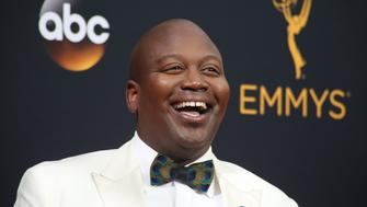 "Actor Tituss Burgess from the Netflix series "" Unbreakable Kimmy Schmidt"" arrives at the 68th Primetime Emmy Awards in Los Angeles, California U.S., September 18, 2016.  REUTERS/Lucy Nicholson"