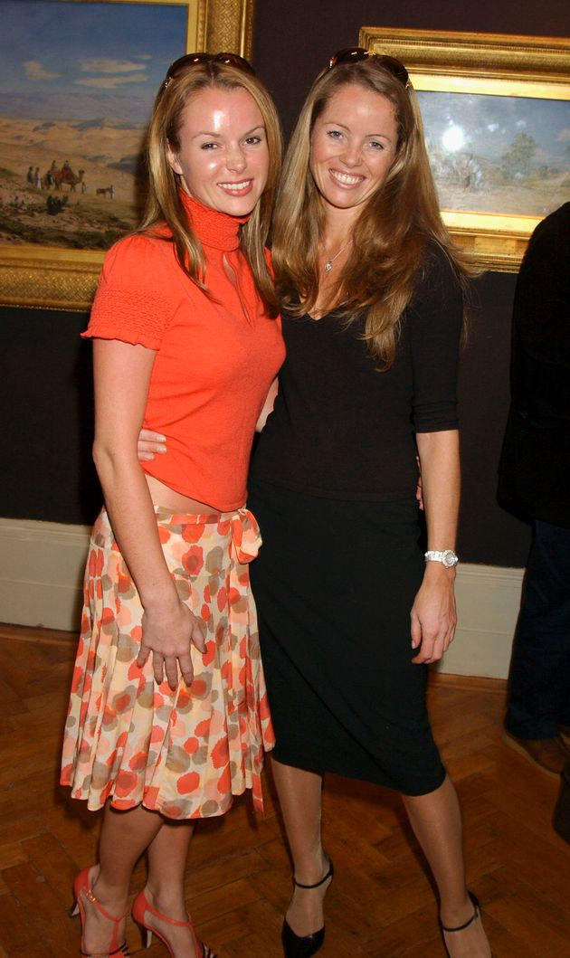 The sisters at an event in