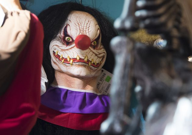 Police are appealing for information about people dressing up as clown and scaring people (FILE