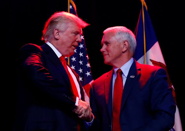Mike Pence 'Offended' By Donald Trump's Lewd Remarks About