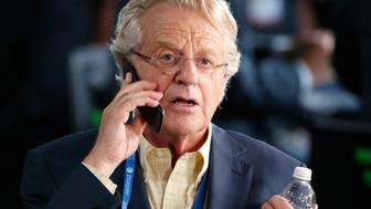 Television personality Jerry Springer at the Democratic National Convention in Philadelphia, Pennsylvania, U.S. July 25, 2016. REUTERS/Lucy Nicholson