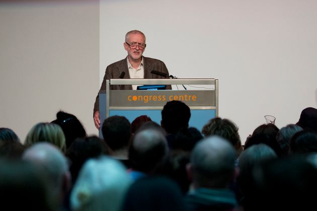 Labour leader Jeremy Corbyn was heckled at a Stop the War coalition conference on