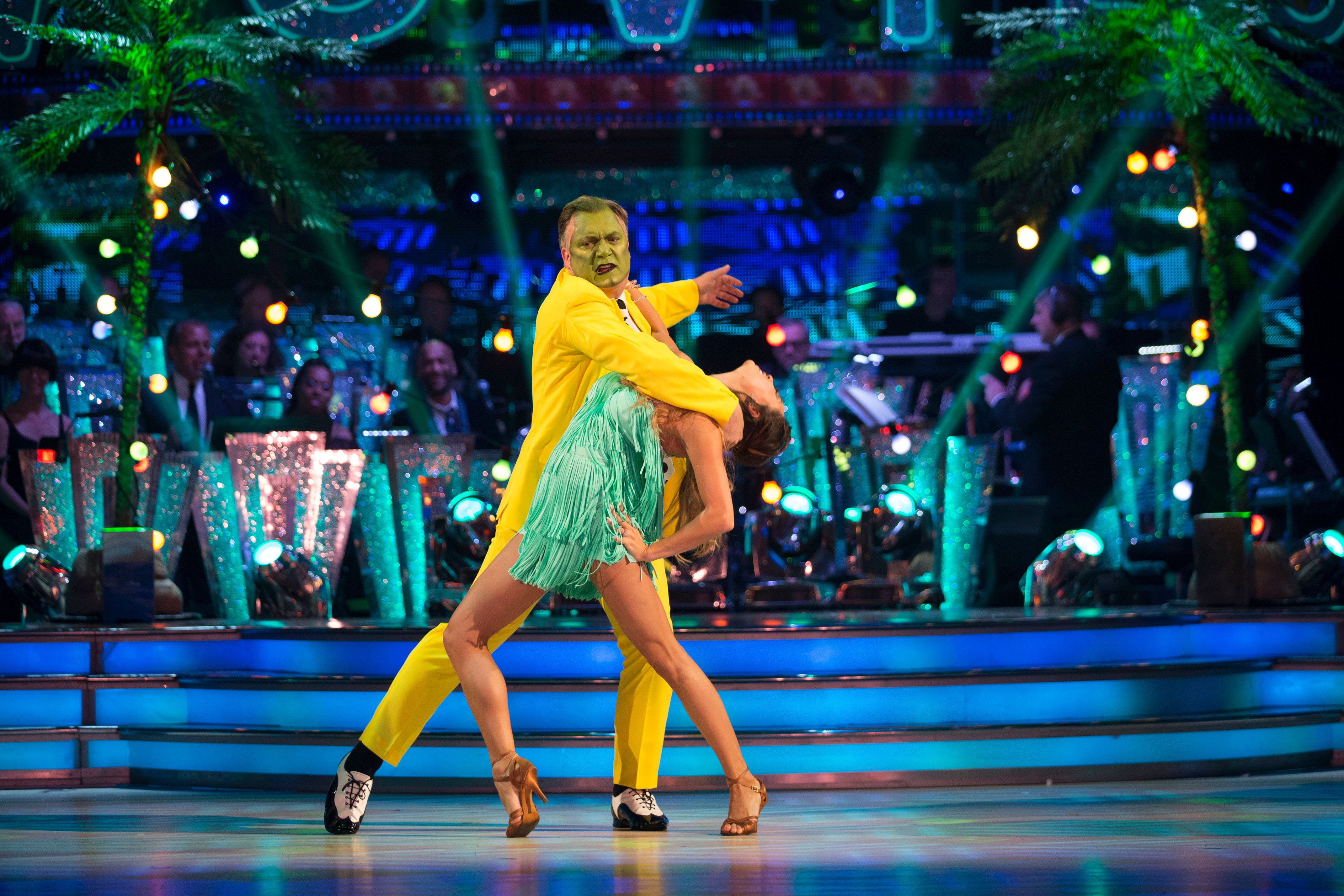 'Strictly' Contestants Raid The Dressing Up Box For Movies