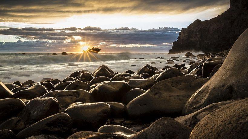 The beauty of a New Zealand sunrise.