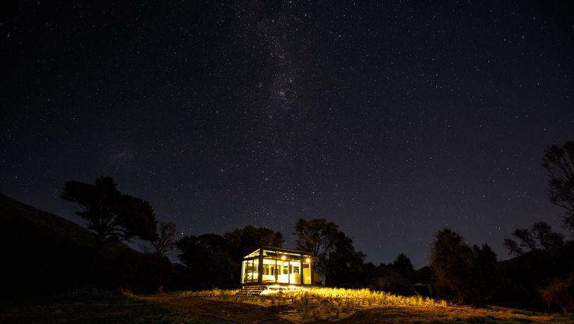 Sleep out under the stars in Kaikoura.