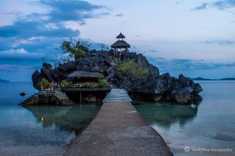 Rock Bar at Sangat Island