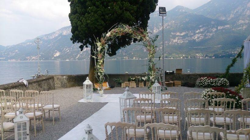 Wedding preparations, Cernobbio - Lake Como, Italy