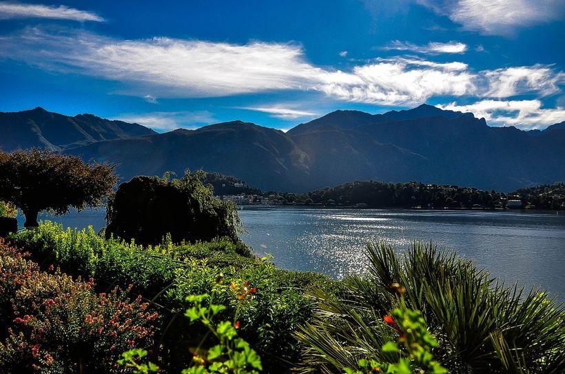 View from Menaggio - Lake Como, Italy