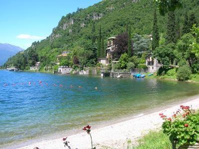 Lierna Beach - Lake Como, Italy