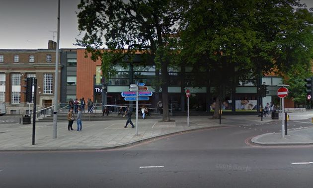 The victim was crossing the road by the College of Haringey, Enfield & North East London when...
