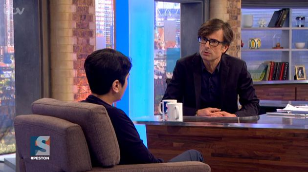 Peston asked her if she could be called