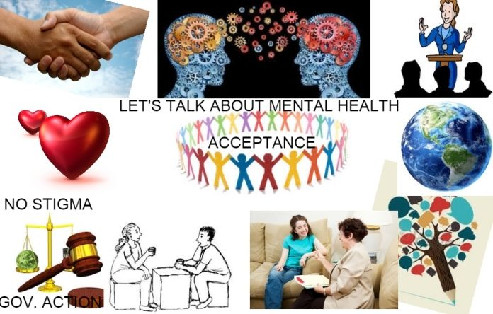 An image provided by patients and carers to illustrate what dignity in mental health means to them