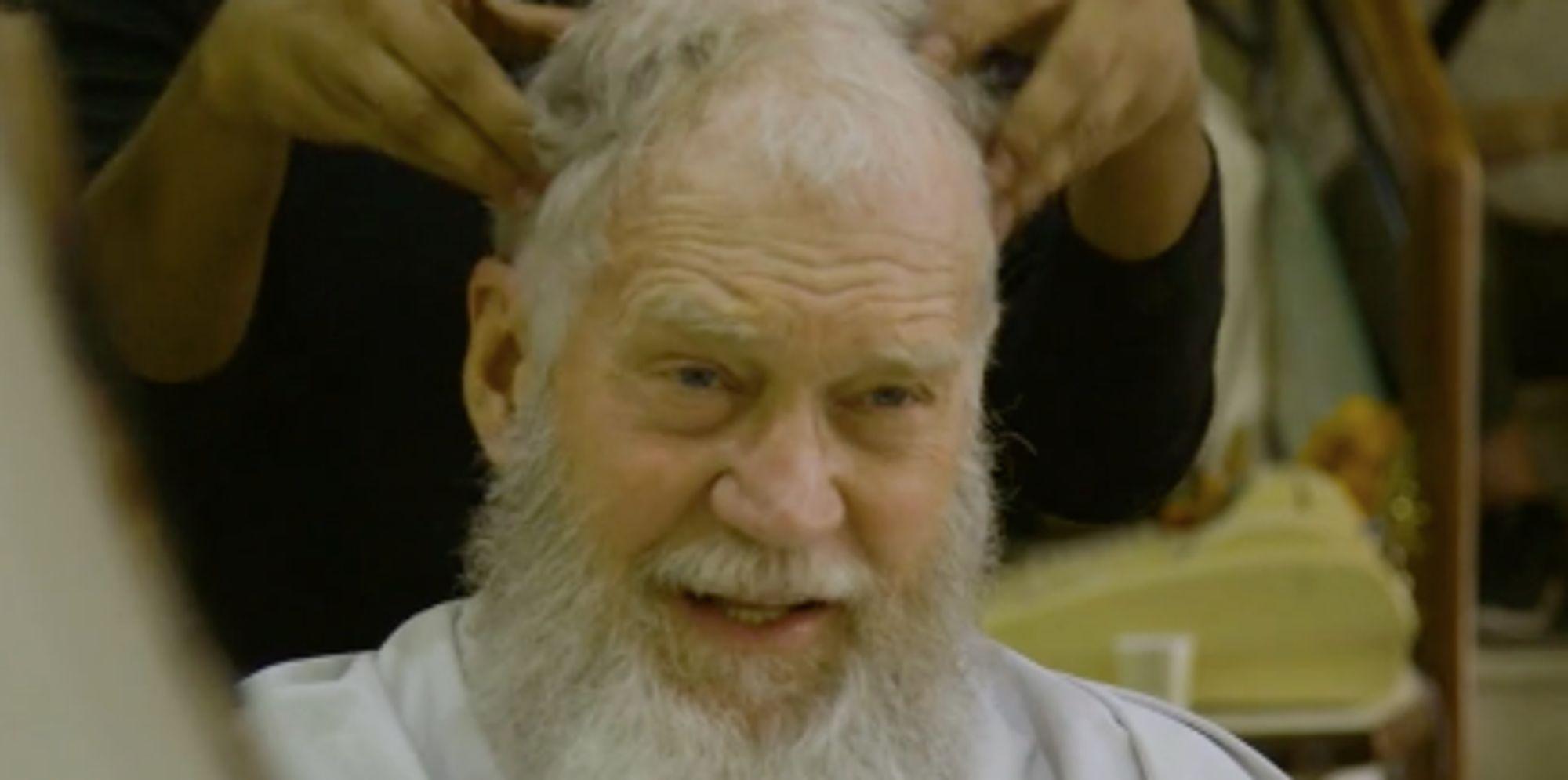 U Beard David Letterman...