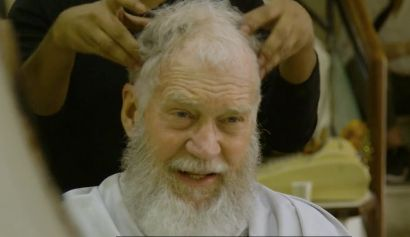 Nothing like a beard trim and head massage.