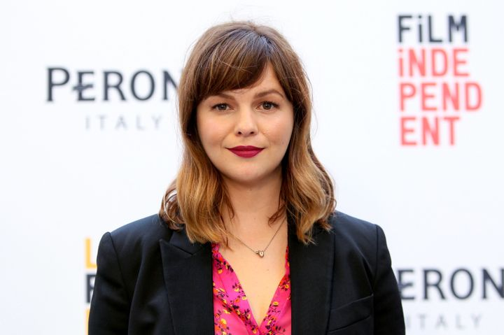Amber Tamblyn shared a story of a previous abusive relationship following Trump's sexist comments.