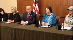 Trump Hosts Women Who Accused Bill Clinton Of