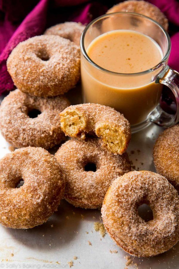 "<strong>Get the <a href=""http://sallysbakingaddiction.com/2016/09/26/easy-chai-spice-donuts/"" target=""_blank"">Easy Chai Spice"