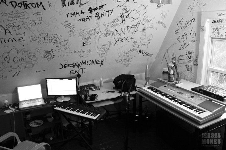 This is what my work space looked like in 2010.