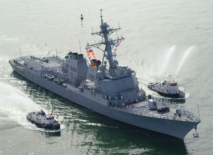 The U.S. military decided to launch missile strikes on radar sites in Yemen after several failed attacks on the USS Mason.