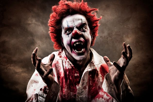 Thames Valley Police received 14 reports of 'killer clown' incidents in just 24 hours (stock